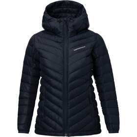 Peak Performance Frost Down Hooded Jacket Women Salute Blue